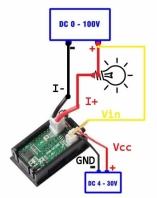 вольтметр-амперметр dsn-vc288