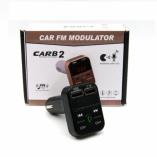 Автомобильный FM-трансмиттер - CARB2 Bluetooth (черный)