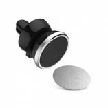 Автомобильный держатель магнитный в решетку обдува (серебро)