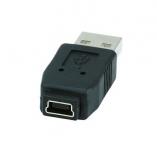 Переходник с miniUSB(м)-USB(п)