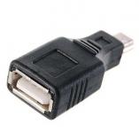 Переходник с miniUSB(п)-USB(м)