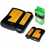 Тестер сетевого кабеля+USB тестер