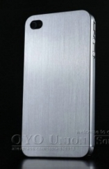 THIN BRUSHED ALUMINUM 0,3MM IPHONE 4/4S