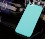тонкий матовый силиконовый чехол iphone 6+