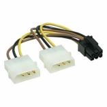 Переходник 2*MOLEX - 6 Pin PCI-E