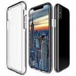 Прозрачный тонкий силиконовый чехол Iphone X