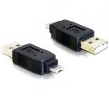 Переходник с microUSB(п)-USB(п)