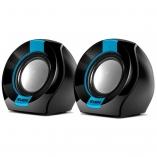 Колонки SVEN 150 Black-Blue (2x2.5W, питание от USB)