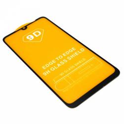 Защитное стекло Xiaomi RedMi Note 7 (черное) 9D тех.упаковка